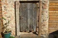 back-door Barn House