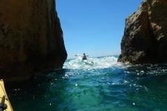 Fun in a Sea kayak