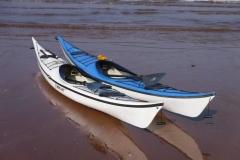 sea kayak reflections