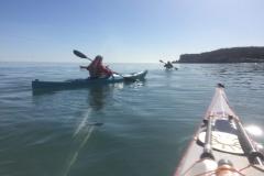 Sea kayaking holiday