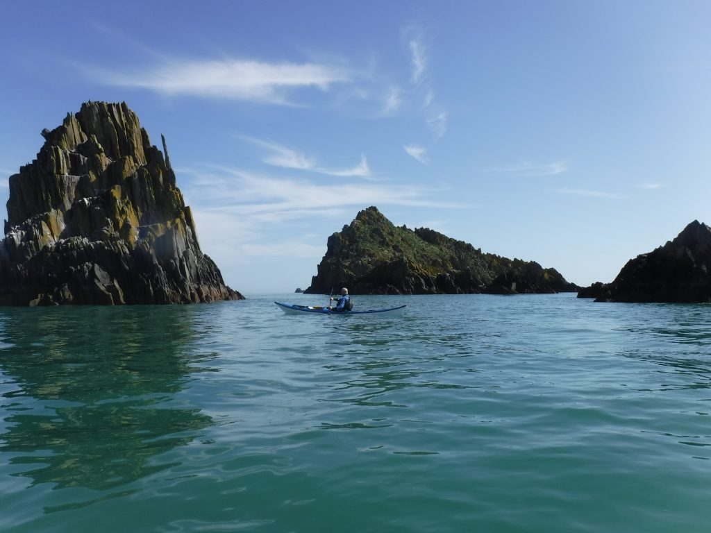 Sea kayaking holiday for couples in Devon