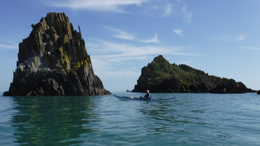 Family sea kayaking holiday South Devon