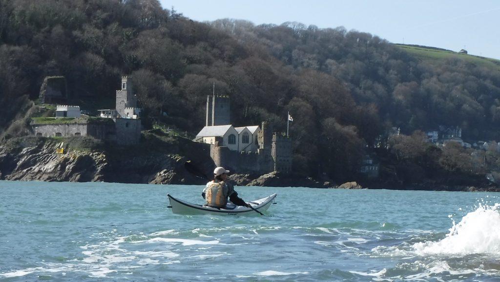 Sea kayaking in Dartmouth Devon