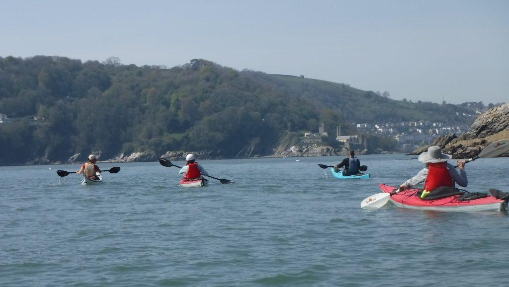 Sea kayaking holidays South Devon