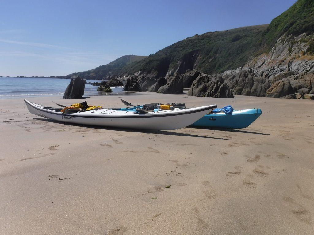 Sea kayaking weekends and short breaks in Devon
