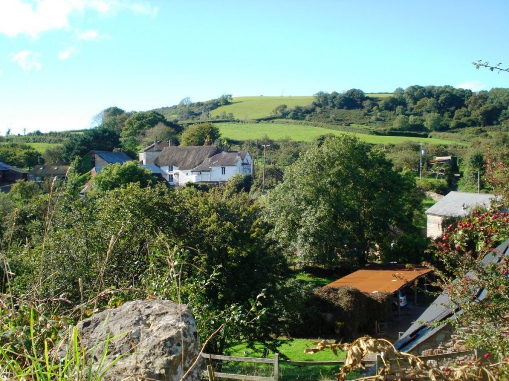Sea kayaking holiday accommodation View of the valley